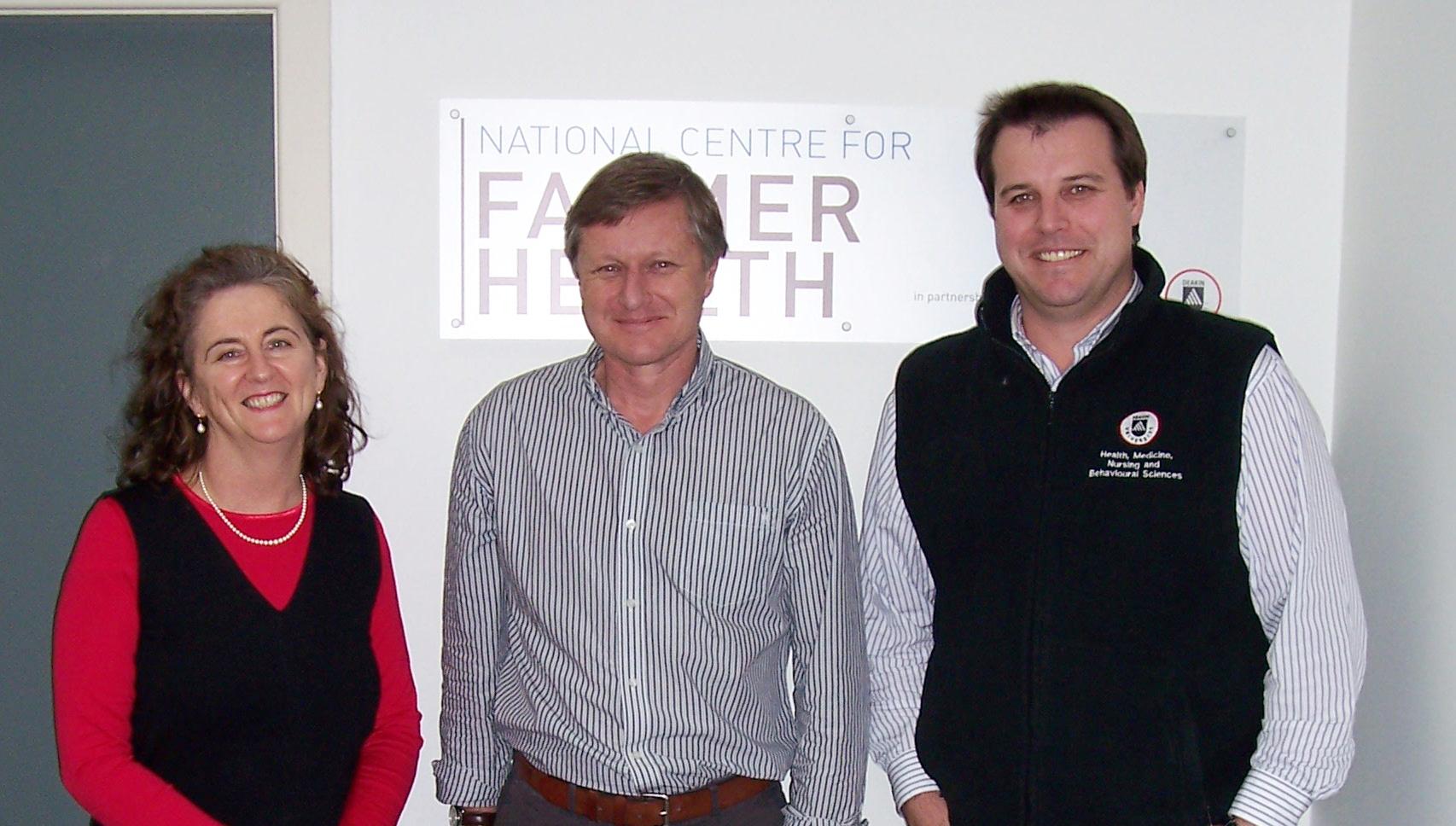 Mark Wagstaffe from Massey University, NZ visitng NCFH