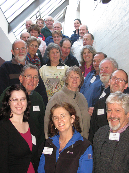 SDFFFD Warragul group gathered six years later at West Gippsland Arts Centre