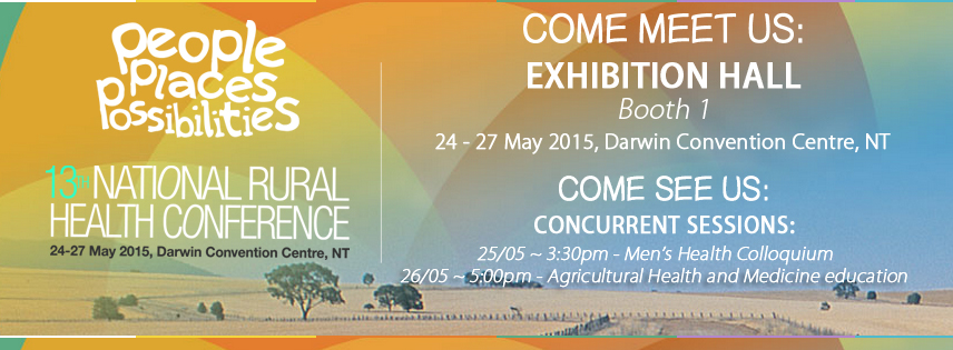 Come meet us at Booth 1 NRHA Conference Darwin in May